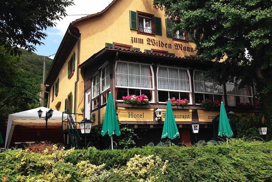 Gasthaus zum Wilden Mann - Badenweiler