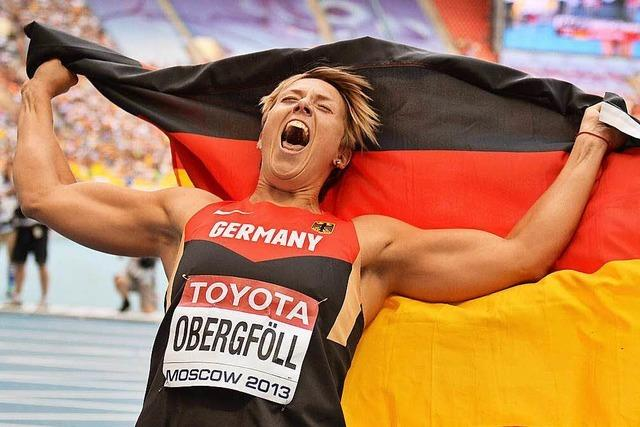 Christina Obergfölls Traum vom olympischen Gold