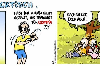 Lucy Backfisch: Echt olympisch