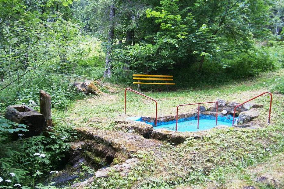 Wassertretstelle Märchenwald - Friedenweiler