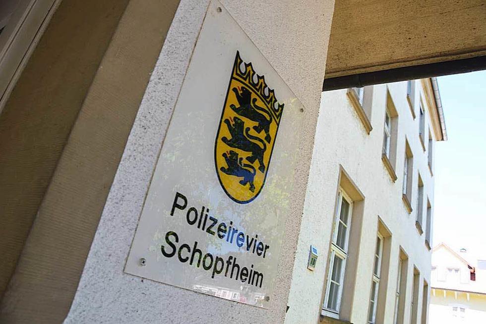 Polizeirevier Hebelstraße - Schopfheim