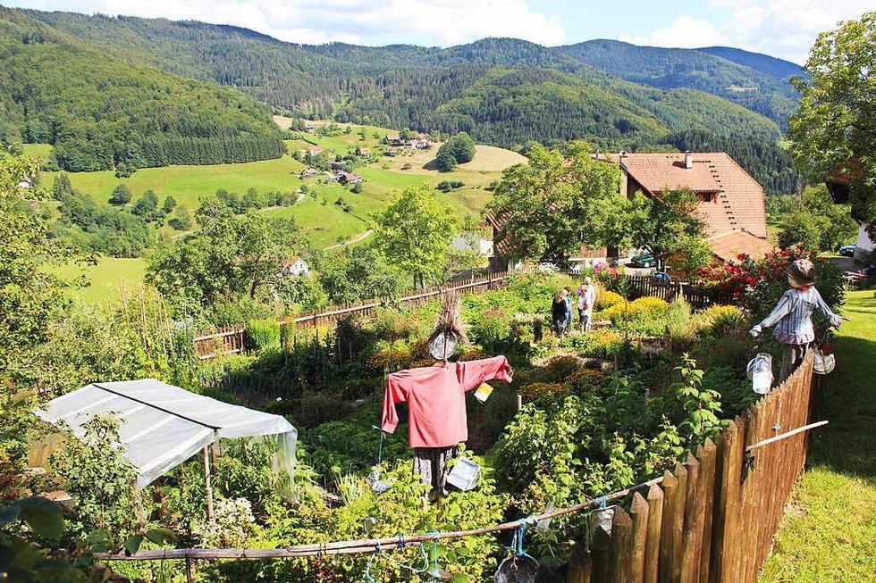 Bauerngarten Waltraut Zeh und Adelheid Mogel - Kleines Wiesental