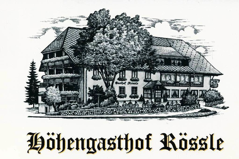 Höhengasthof Rössle (Faulenfürst) - Schluchsee