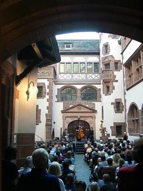 Rathausinnenhof - Freiburg