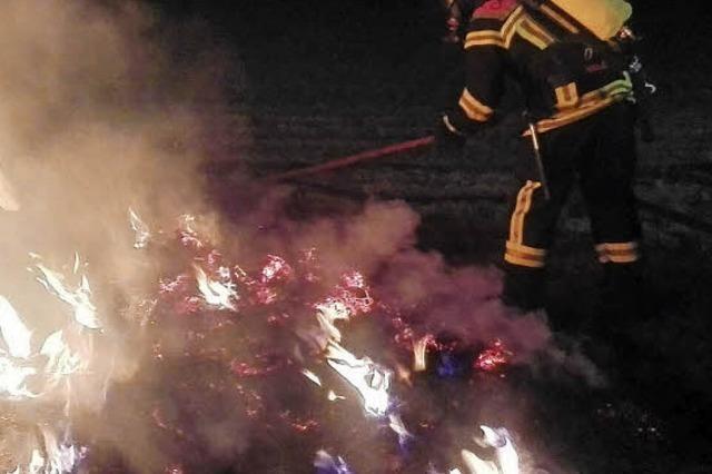 Das waren die kuriosesten Einsätze der Kehler Feuerwehr