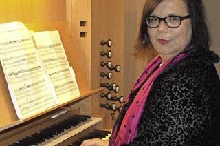 Christa Wette und Martin Januschek spielen in der Kirche in G�rwihl-Strittmatt