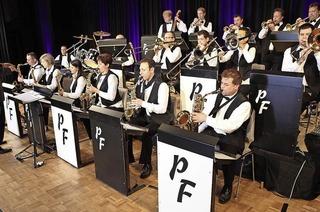 Auftritt der Pig Farmers Big Band in H�chenschwand