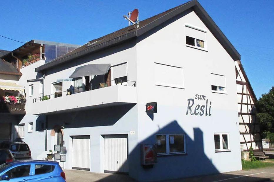 Gasthaus zum Resli (Nordweil) - Kenzingen