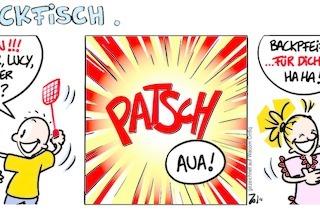 Lucy Backfisch: Backpfeife oder Mückenstich