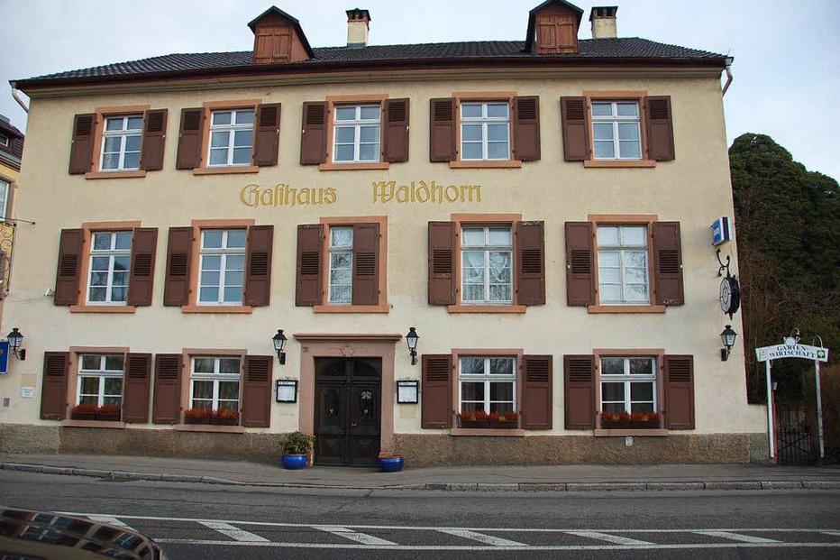 Gasthaus Waldhorn (geschlossen) - Grenzach-Wyhlen