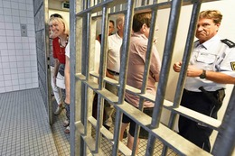 Fotos: BZ-Ferienaktion im Polizeirevier