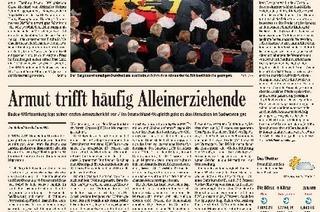 2015: Die Zeitung gibt's nicht nur auf Papier