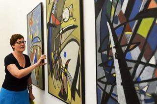 BZ-Leser entdecken im Museum für Neue Kunst das Blau im Bild