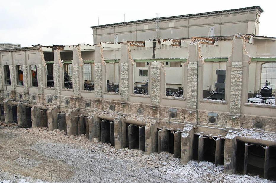 Altes Kraftwerk (abgerissen) - Rheinfelden