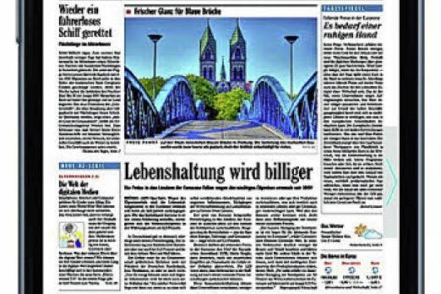 BZApp: Zeitung auf Tablet und Smartphone lesen