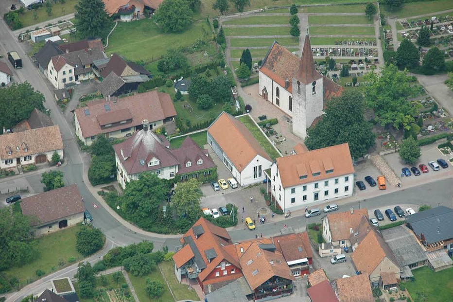 Rathausplatz Wolfenweiler - Schallstadt