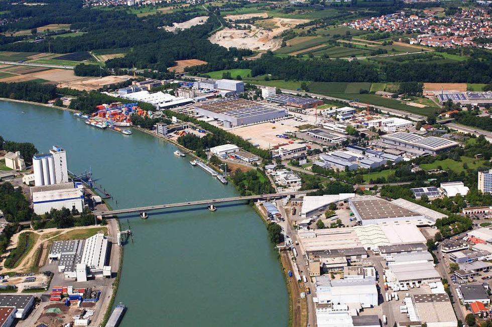 Palmrainbrücke - Weil am Rhein