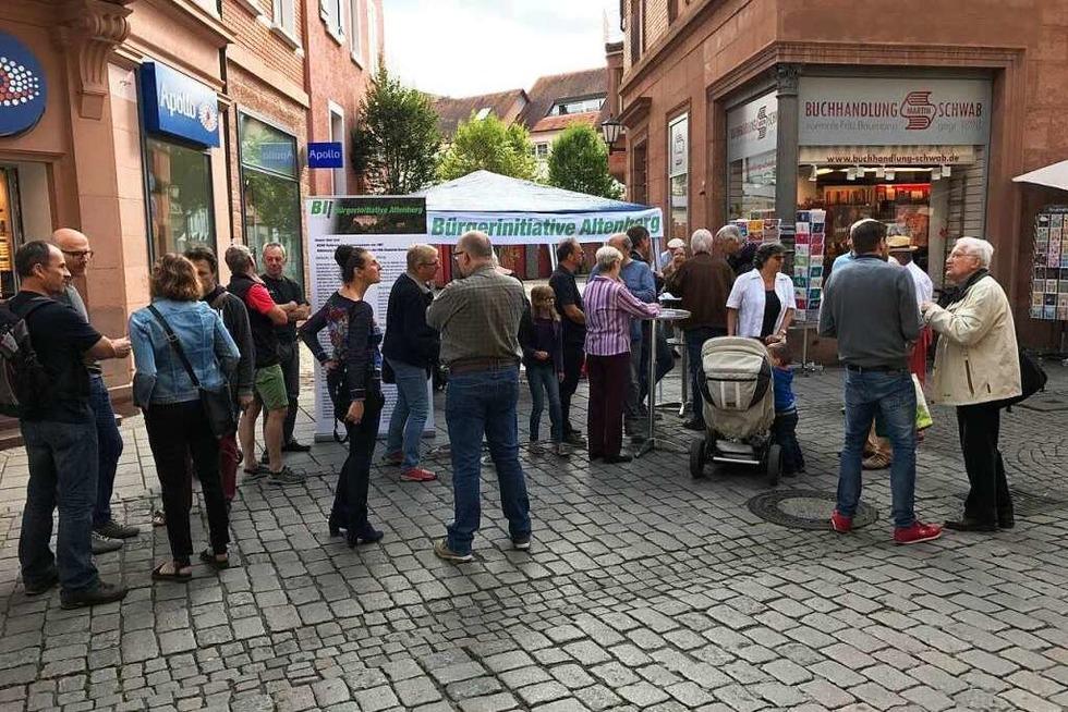 Lahrer Bürgerinitiative hat bereits 500 Unterschriften gesammelt - Badische Zeitung TICKET
