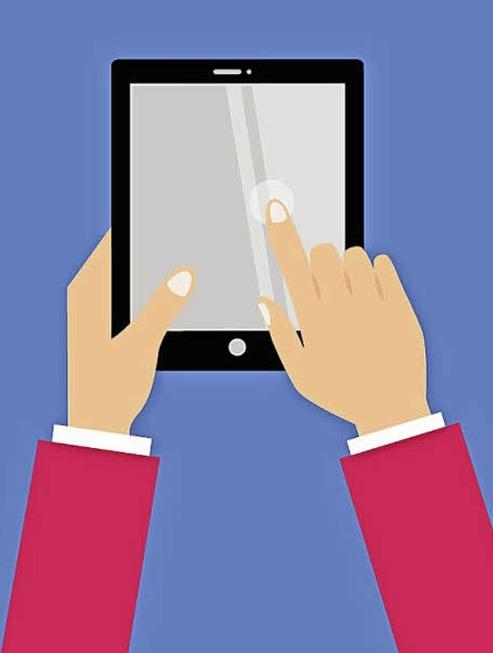 Tablet - der ideale Computer für die Reise und das Sofa zu Hause - Badische Zeitung TICKET