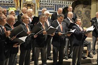 """Meolodien am Titisee"" ist das Motto f�r die Liedauswahl der Ch�re in Titisee"