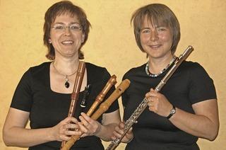 Chants d'Oiseaux mit Sonja Kanno-Landoll und Ulrike Wettach-Weidemaier in L�rrach