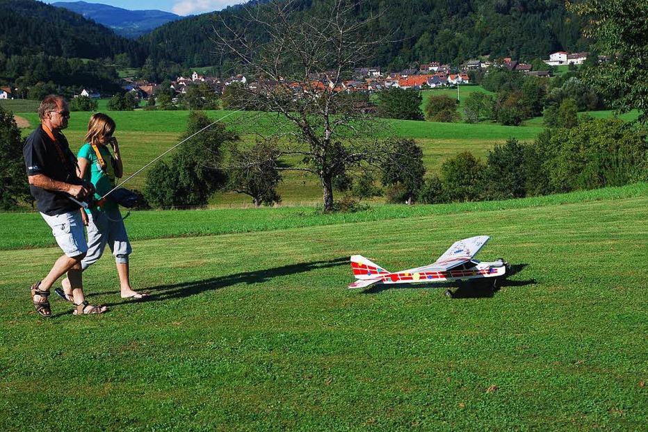 Flugplatz Modellfluggruppe Wieslet - Kleines Wiesental