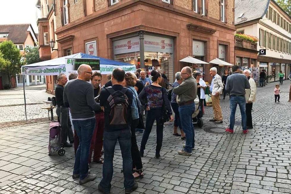 Lahrer BI Altenberg will Alternativen vorschlagen - Badische Zeitung TICKET