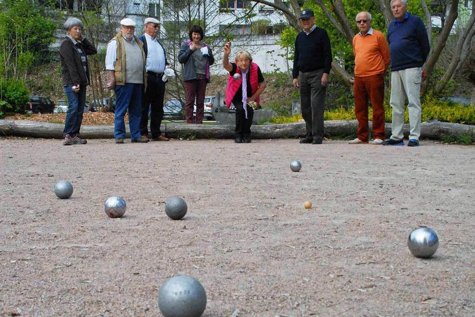 Boule-Platz Ludingarten - Wehr