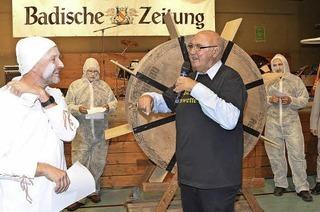 Bürgermeister Schönbett gewinnt BZ-Ortswette