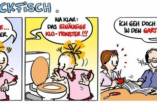 Lucy Backfisch: Monster im Klo!