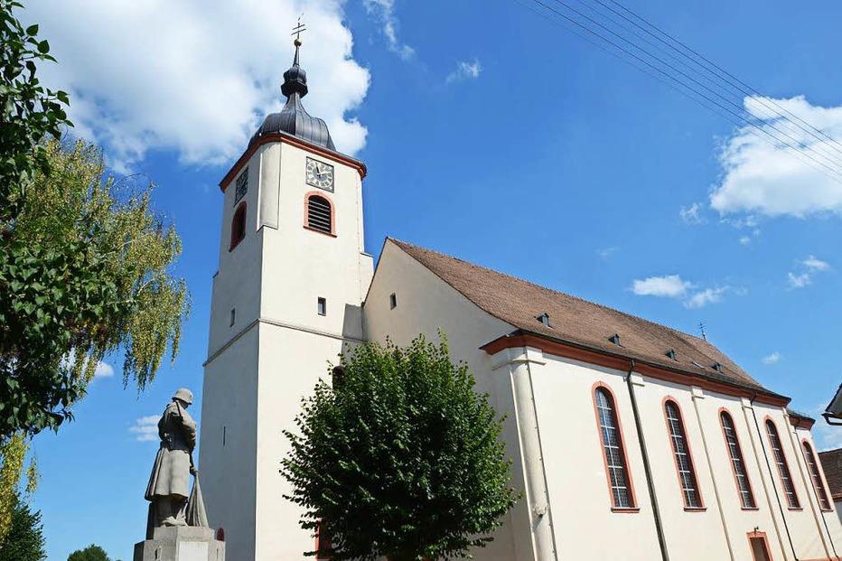 Kath. Kirche Sankt Cosmas und Damian (Jechtingen) - Sasbach