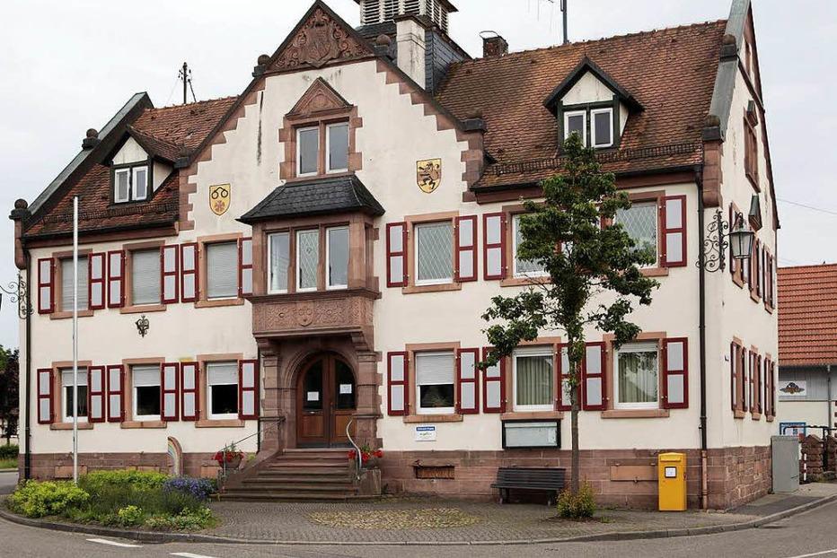 Rathaus Nonnenweier - Schwanau