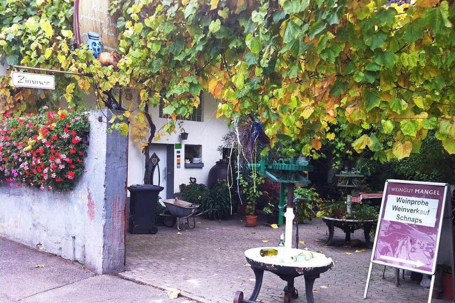 Weingut Mangel (Kiechlinsbergen) - Endingen