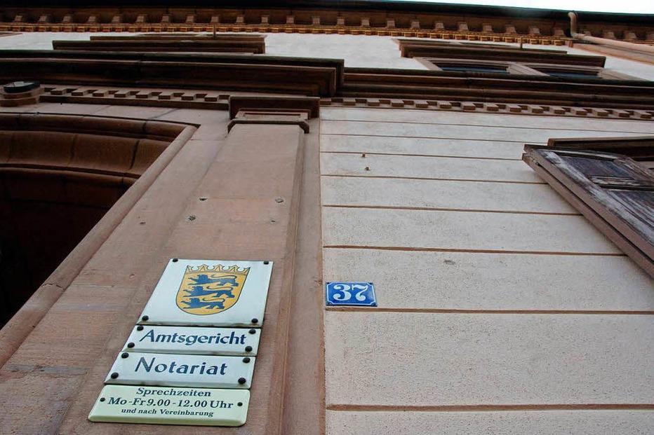 Amtsgericht - Müllheim