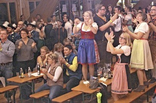 Party mit Gaudiwettkämpfen, Bierbörse, Bewirtung und Musik in Eisenbach