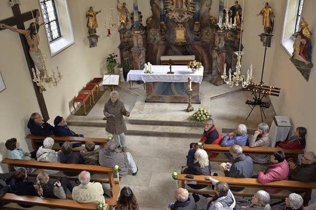 Nah dran an der Geschichte der Kapelle