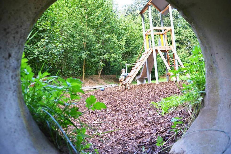 Waldspielplatz Fuchshalde - Ebringen