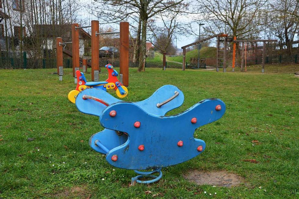 Spielplatz Baumgartenstraße - Ebringen