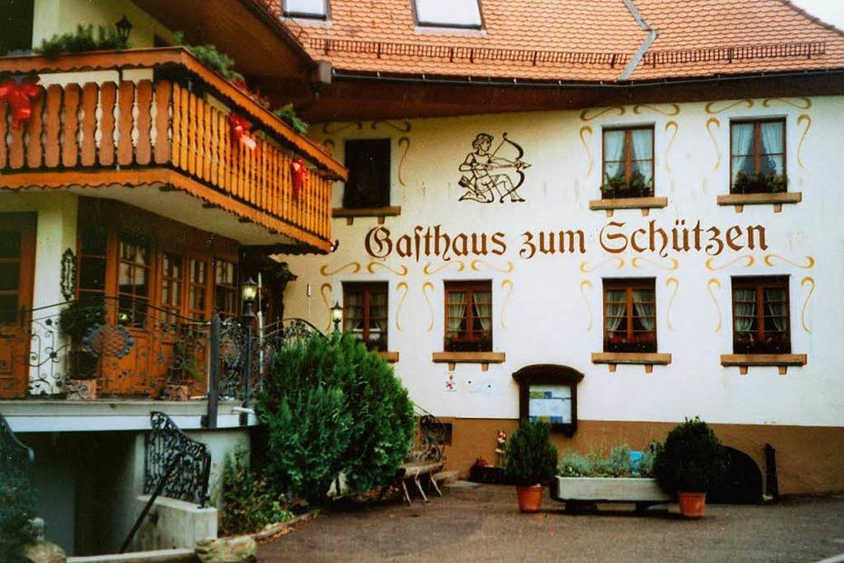 Landgasthof Schützen (Weilersbach) - Oberried