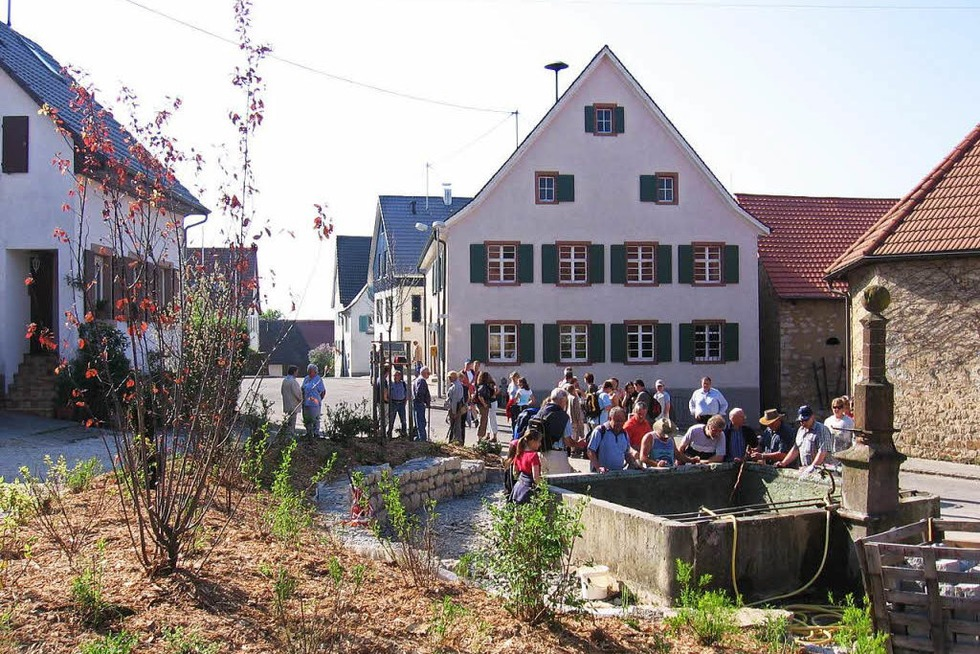 Dorfbrunnen Tannenkirch - Kandern