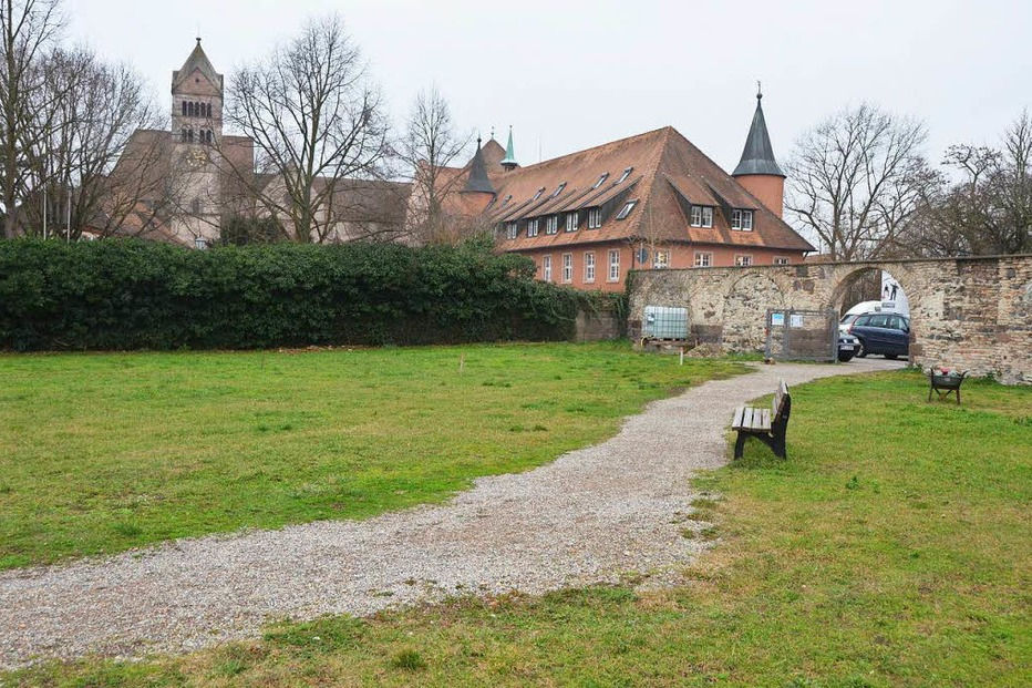 Franziskaner Klostergarten - Breisach