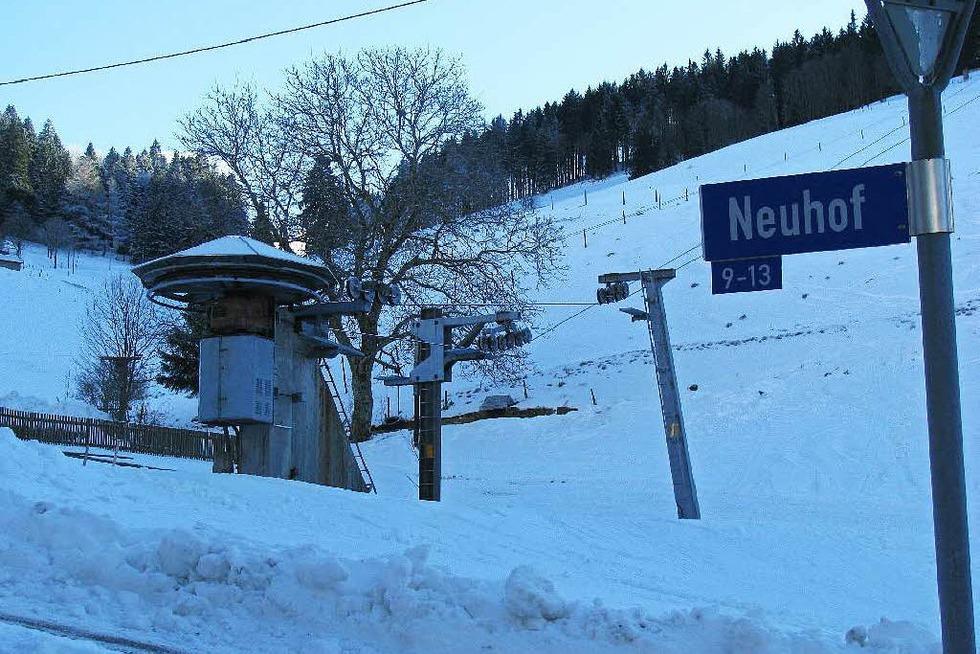Skilift Neuhof - Münstertal