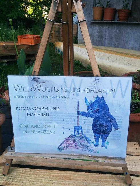 Wild Wuchs Nellies Hofgarten - Lörrach