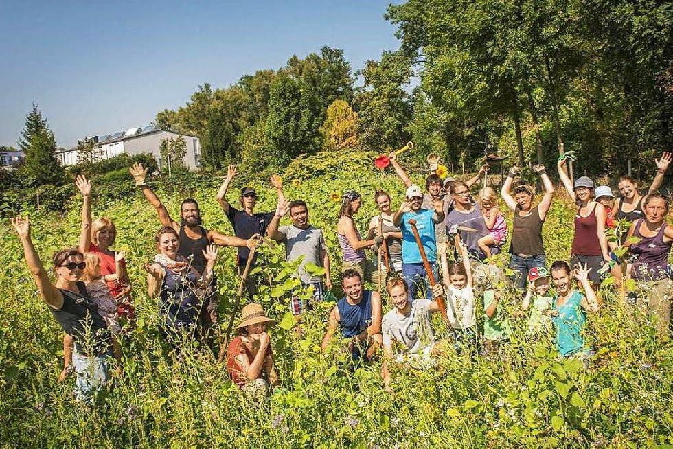 Zusammen gärtnern - Gemeinschaftsgarten am Dorfbach (Vauban) - Freiburg