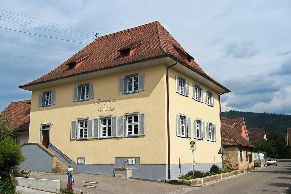 Bürgerhaus Grunern (Alte Schule) - Staufen