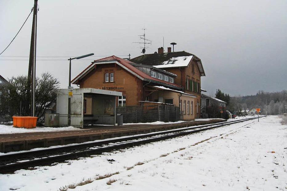 Bahnhof Rötenbach - Friedenweiler