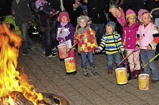 Laternen- und Martinsfeiern für Kinder und Familien