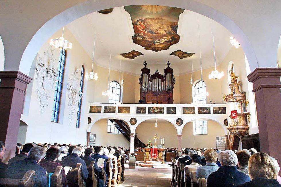 Evang. Barockkirche - Meißenheim