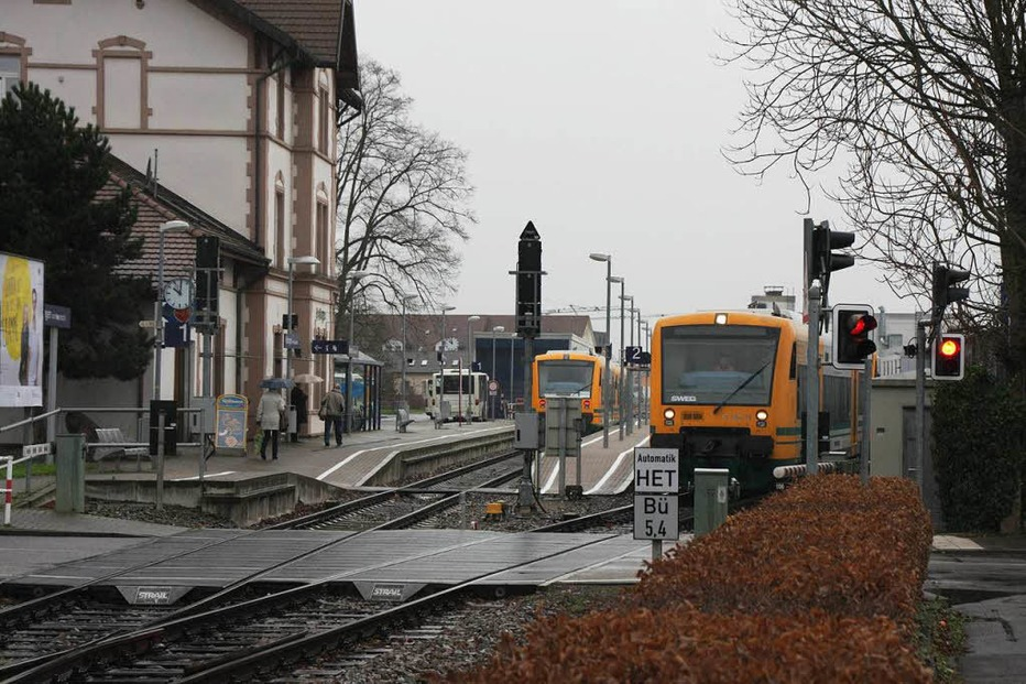 Bahnhof - Endingen