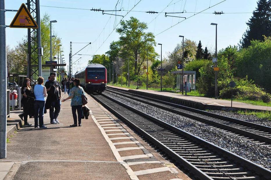 Bahnhof - Buggingen